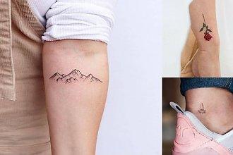 Małe tatuaże - galeria subtelnych i dziewczęcych wzorów