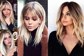 16 modnych cięć dla blondynek o półdługich włosach! [GALERIA]