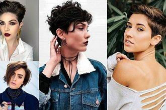 Krótkie fryzury dla brunetek i szatynek - katalog stylowych cięć