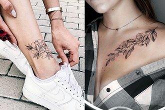 Tatuaże kwiaty - 20 urzekających wzorów dla kobiet