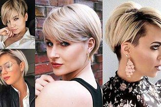 19 krótkich cięć dla blondynek – galeria stylowych fryzur