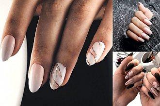 Nude manicure - 25 nowoczesnych i stylowych zdobień