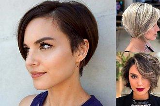 Fryzury za ucho - galeria kobiecych i oryginalnych cięć
