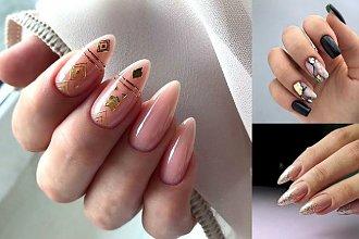 21 pomysłów na manicure ze złotymi zdobieniami [GALERIA]