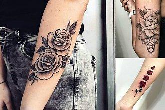 Tatuaż róża - 30 niesamowitych wzorów dla kobiet