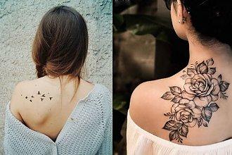 Tatuaże na łopatce - galeria unikatowych wzorów