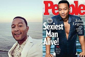 """John Legend został mianowany najseksowniejszym mężczyzną na całym świecie 2019 wg magazynu ,,People"""". Internauci: ,,Czy to żart?"""""""