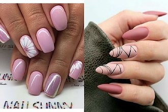 Różowe paznokcie w różnych odcieniach - 22 propozycje na różowy manicure [GALERIA]