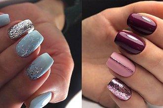 Brokatowy manicure - 20 pomysłów na brokatowe paznokcie [GALERIA]