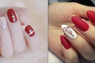 Czerwony manicure - 20 propozycji na czerwone paznokcie [GALERIA]
