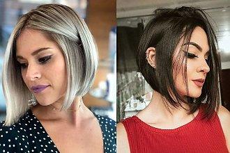 Włosy w pół szyi – galeria mega kobiecych trendów