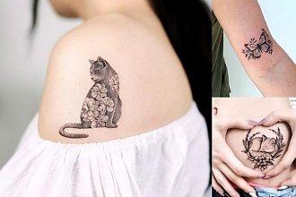 Animal tattoo - galeria wyjątkowych propozycji dla kobiet