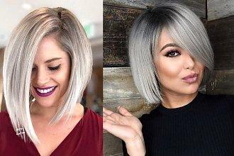 Genialne fryzury dla okrągłej twarzy - 21 efektownych cięć