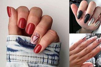 20 pomysłów na nietuzinkowy manicure z dodatkiem geometrycznych zdobień! [galeria]