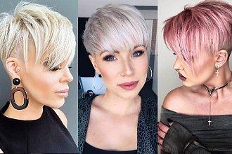 Krótkie cięcie 2020 - przegląd modnych fryzur pixie i undercut