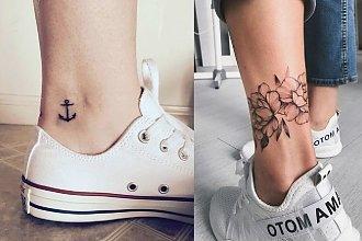 Tatuaż w okolicy kostki - 28 dziewczęcych wzorów