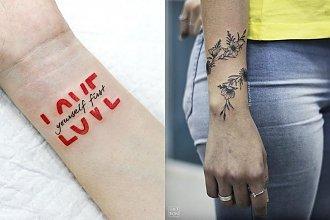 Tatuaż na nadgarstek - 20 najmodniejszych wzorów dla kobiet [GALERIA]