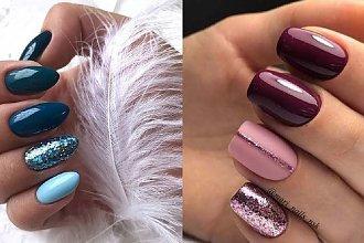 Ciemne paznokcie - aż 30 pomysłów na ciemny manicure [GALERIA 2020]