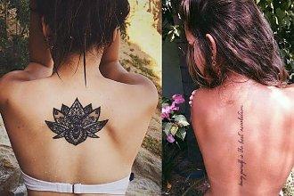 Tatuaże na plecy - galeria ślicznych projektów dla kobiet