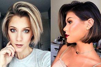 Genialne fryzury za ucho - galeria modnych cięć 2020