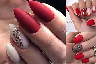 Czerwony manicure - 18 stylizacji, które sprawdzą się w tym sezonie!