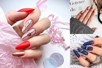 Walentynkowy manicure 2020 - galeria najpiękniejszych pomysłów