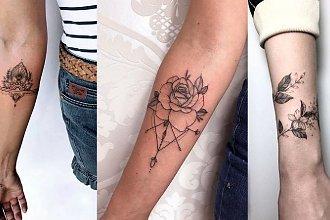 Tatuaż na przedramię - galeria mega kobiecych wzorów