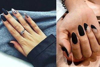 Czarny manicure - 21 przepięknych i eleganckich zdobień