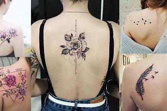 Tatuaże na łopatce - aż 22 ultrakobiece wzory!