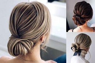 20 pięknych i stylowych koków – galeria fryzjerskich trendów
