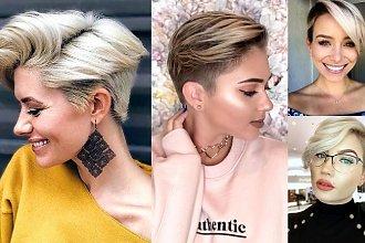 Fryzury pixie i undercut dla blondynek - 20 fryzjerskich trendów