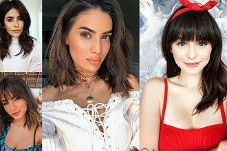 Półdługie cięcia dla brunetek i szatynek - 20 gorących trendów