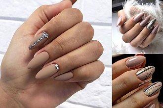 Nude manicure - galeria stylowych zdobień w odcieniach beżu!