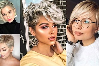 Krótkie fryzury - 21 modnych cięć dla kobiet o jasnych włosach