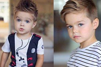 Fryzury dla chłopców – modne cięcia dla małych przystojniaków