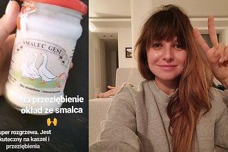 Anna Lewandowska smaruje Klarę GĘSIM SMALCEM, przykrywa pergaminem i owija ręcznikiem. Lekarz skomentował!