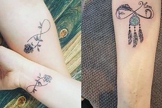 Tatuaże z symbolem nieskończoności - 27 wzorów modnych w 2020 [GALERIA]