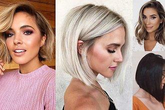 20 półkrótkich i półdługich fryzur, jak z najlepszych katalogów - modne fryzury 2020