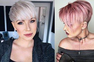 Krótkie cięcie 2020 - katalog modnych fryzur pixie i undercut