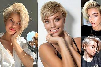 Krótkie cięcia dla blondynek – galeria stylowych fryzur