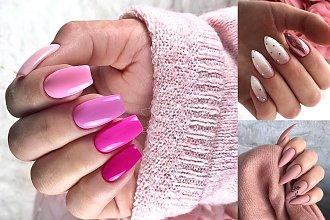 Różowy manicure - 21 ślicznych zdobień, które skradną Ci serce