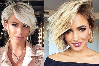 Krótkie fryzury - 15 zjawiskowych cięć dla kobiet o jasnych włosach