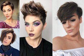 Krótkie fryzury dla brunetek i szatynek - 20 najmodniejszych cięć
