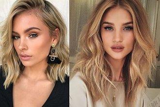 Średnia długość włosów dla blondynek to HIT - najlepsze cięcia, jak z katalogów
