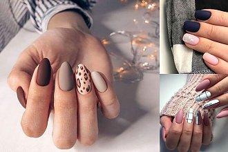 Matowy manicure - 18 najlepszych stylizacji z sieci