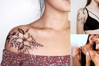 Najpiękniejsze propozycje na tatuaż w okolicy ramienia - 20 kobiecych wzorów