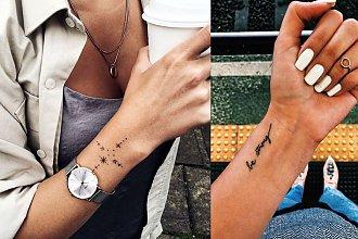 Tatuaż w okolicy nadgarstka - galeria zjawiskowych wzorów