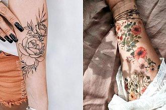Tatuaż na przedramię - 21 przepięknych wzorów dla kobiet