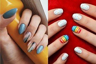 Kolorowy manicure na wiosnę - 20 kuszących propozycji [GALERIA]