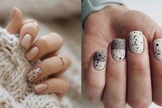 Krótkie paznokcie - 21 kuszących propozycji na krótki manicure [GALERIA 2020]